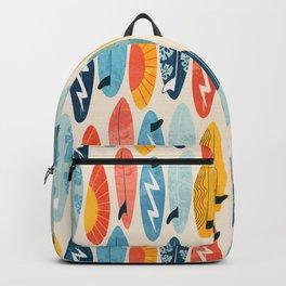 Surfboard white  Backpack