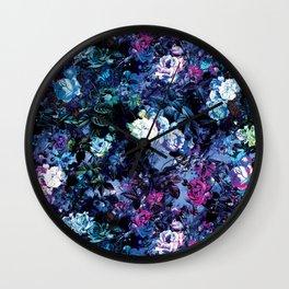 RPE FLORAL X Wall Clock