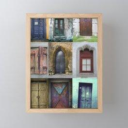 Doors Framed Mini Art Print