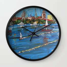Expression Rīga, Latvia Wall Clock