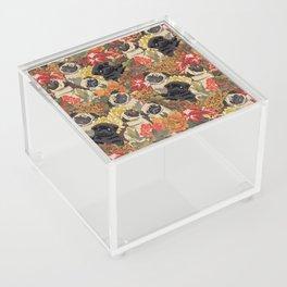 Because Pugs Autumn Acrylic Box