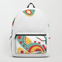 Insectarium Insect Art Dragonfly Illustration Dragonfly Graphic Backpack