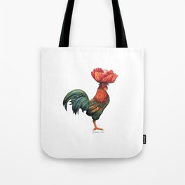 Poppycock 1 Pun Tote Bag