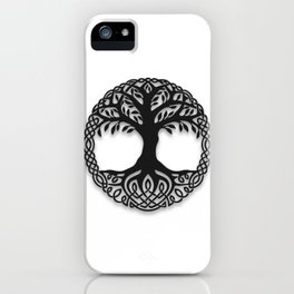 Yggdrasil, the northsmen tree of life iPhone Case