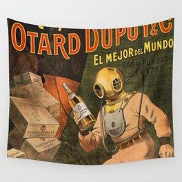 1910 Cognac Otard Dupuy Cornac Advertisement Poster Wall Tapestry