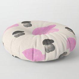 Mushroom pink Floor Pillow