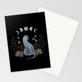 Cat on the Hill Stationery Cards