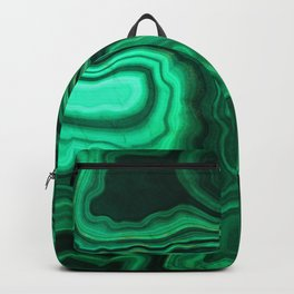 Emerald Marble Backpack