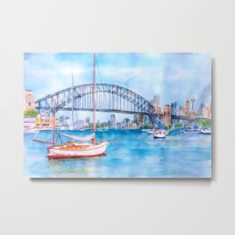 Beautiful Sydney Harbour Metal Print