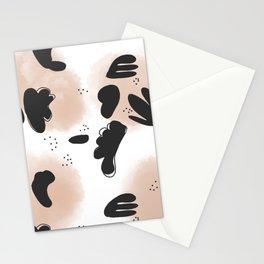 Pink fog storm Stationery Cards