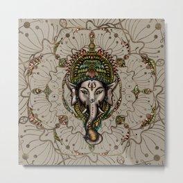 Lord Ganesha - Canvas Lord Ganesha - Canvas Metal Print