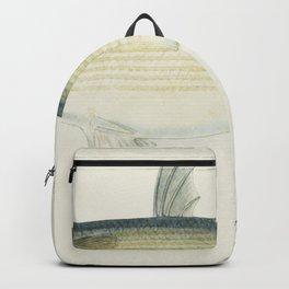 Antique fish Rajidae drawn by Fe Clarke (1849-1899) Backpack