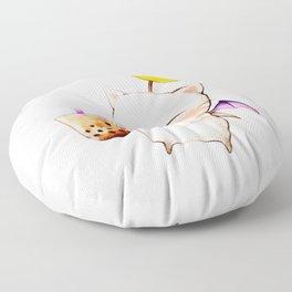 Moogle Bubble Tea Floor Pillow