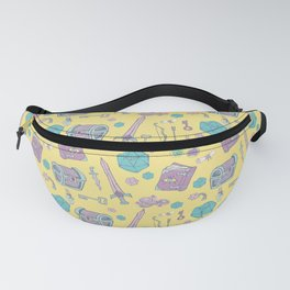 Dungeons and Dragons (lemon) Fanny Pack