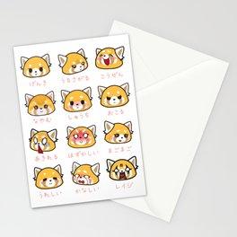 Retsuko Emotions Stationery Cards