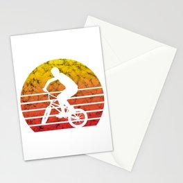 BMX Bike Biker Bicycle Retro Love Life Gift Stationery Cards
