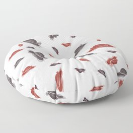 Ms. Santa's Whispering Candy Cane extended Floor Pillow