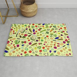 Vegetable Soup Recipe Rug
