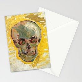 Vincent Van Gogh Skull Stationery Cards