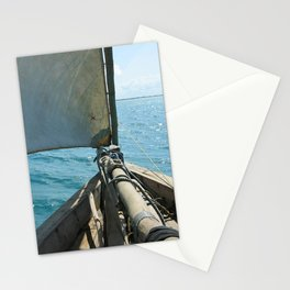Seascape from Sailboat Mozambique, Africa Stationery Cards