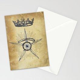 misterio visual 4: gu-eye-dence Stationery Cards