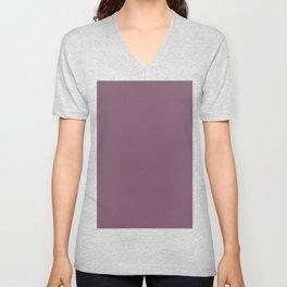 Euphoric magenta bold classic color trends Unisex V-Neck