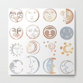 full moon ritual Metal Print