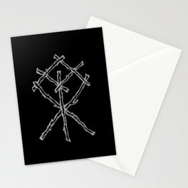 Rune Binding at Midnight Stationery Cards