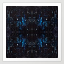 Mid-Night Blues Art Print
