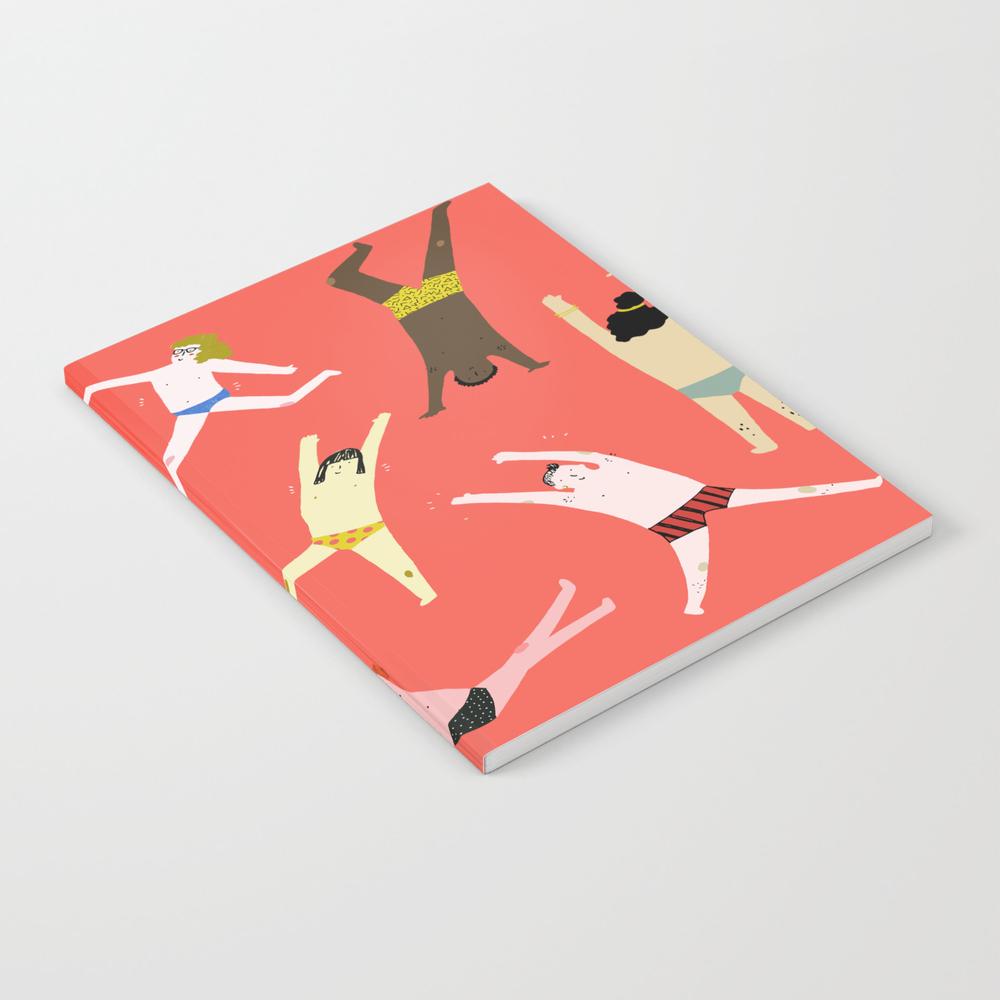 Dance! Dance! Dance! Notebook by Creativaty NBK7920667