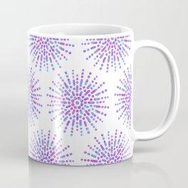 Symmetrical Shapes - Confetti Burst Coffee Mug
