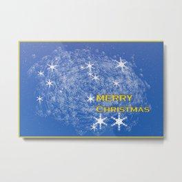 Concept Chtristmas : Christmas greetings Metal Print
