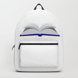 Open Book Backpack