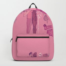 Beneath Everything there is love Backpack