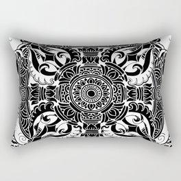Tibetan Mahakala Rectangular Pillow