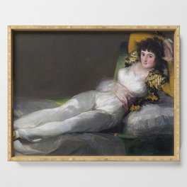 Francisco Goya - The Clothed Maja Serving Tray