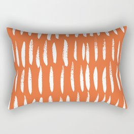 Brush Stroke Staccato Rectangular Pillow
