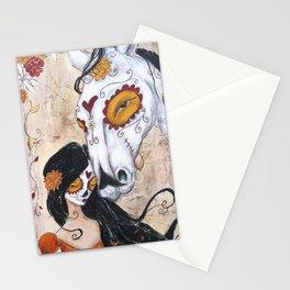 en el valle de sombra de muerte Stationery Cards