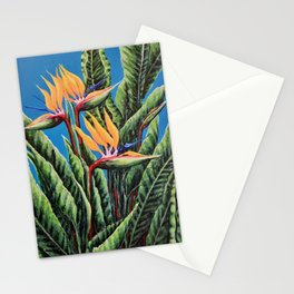 The beautiful Bird of Paradise Stationery Cards