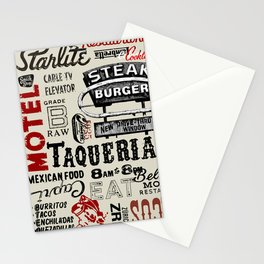 SteakTaco Stationery Cards