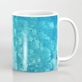 Blue grunge rusty metal Coffee Mug