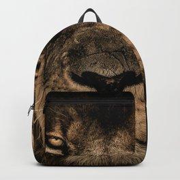 Fierce Proud Lion Fade Backpack