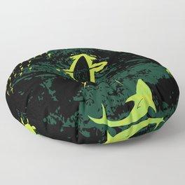 Bioluminescent Bay, Vieques, PR Floor Pillow