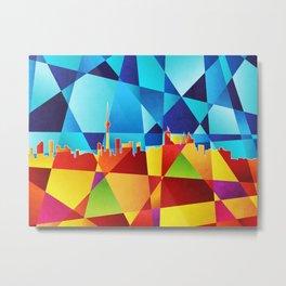 Toronto Canada Skyline Metal Print