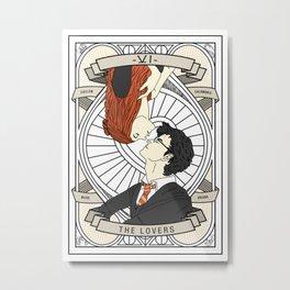 Harry / Potter: Tarot Metal Print