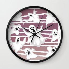 Ghost Spook Wall Clock
