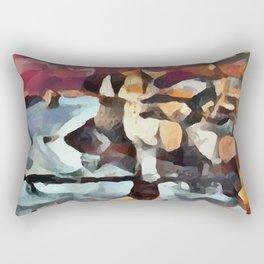 Abstract 5 Rectangular Pillow
