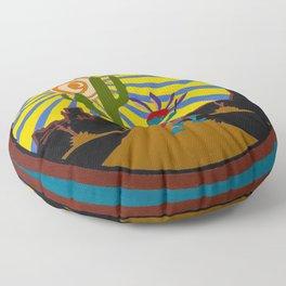 Kokopelli #3 Floor Pillow