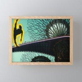 Dancer on Fire Framed Mini Art Print