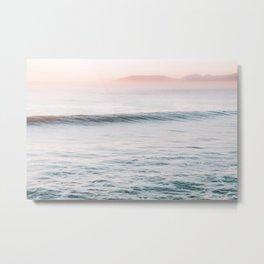 Calm Ocean Waves Metal Print